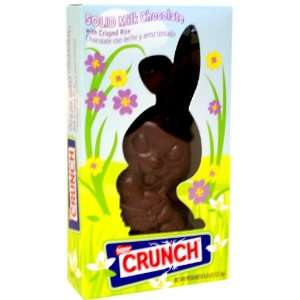 Nestle Crunch Solid Milk Chocolate Easter Bunny 4.5oz.