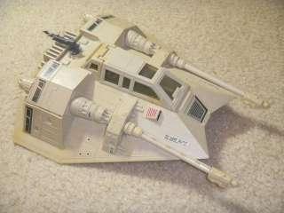 VINTAGE KENNER STAR WARS toys lot SLAVE 1, Snowspeeder, X Wing, TIE