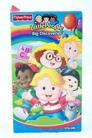 home page listed as little people big discoveries volume 1 vhs english