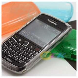 2x Gloss TPU Silicone Gel Case Blackberry Bold 9780
