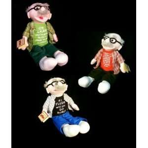 Chantilly Lane Animated Plush toys   Grams Crackers Guys