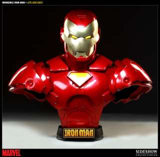 Invincible Iron Man Comic Version 11 Life Size Bust NEW SEALED