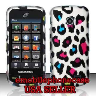 Leopard Snap On Hard Case Cover Samsung T528g StraightTalk