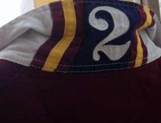 Ralph Lauren mens polo big pony rugby shirt burgundy xl $145 nwt
