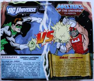HE MAN MOTU GREEN LANTERN VS ZODAC DC UNIVERSE CLASSICS 2PACK FIGURES