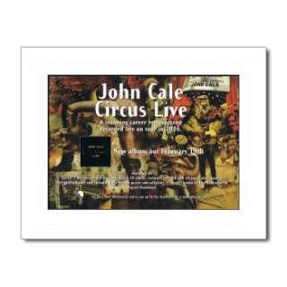 JOHN CALE   Paris 1919   Matted Mini Poster
