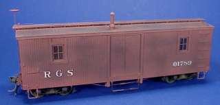 On3/On30 WISEMAN RIO GRANDE SOUTHERN OUTFIT CAR #01789