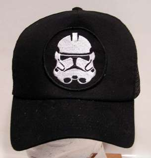 STAR WARS Storm Trooper Helmet Baseball Cap/Hat w Patch