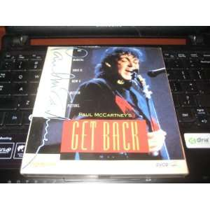 VCD VIDEO CD PAUL Mc CARTNEYS GET BACK (VCD) Everything
