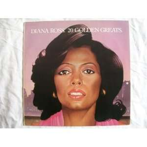 DIANA ROSS 20 Golden Greats LP: Diana Ross: Music