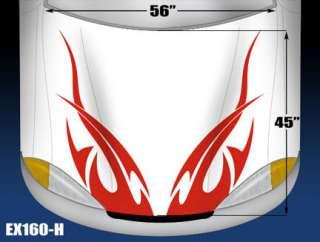 5160 H HOOD 2Fast Tribal Vinyl Graphics Decal CAR/TRUCK