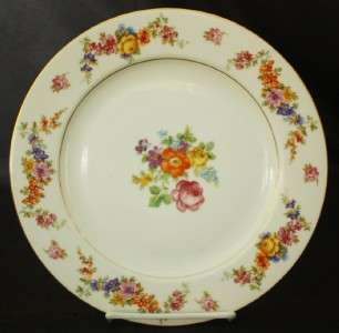 Springer Epiag 13267 Flower Swag Dinner Plate Germany 2