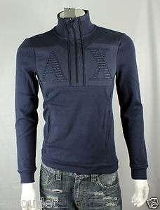Armani Exchange AX Logo Pullover Shirt/Top Sz XS