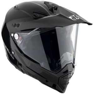 AGV AX 8 DUAL SPORT MOTORCYCLE HELMET BLACK MEDIUM