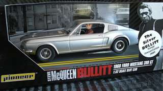 BULLITT Ford MUSTANG GT 390 SPECIAL EDITION Slot Car Scalextric