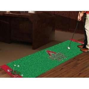 MLB   Arizona Diamondbacks Golf Putting Green Mat Electronics