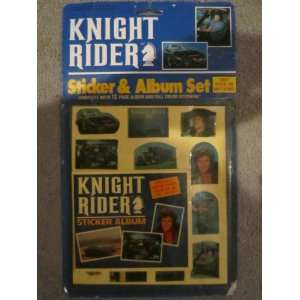 Knight Rider Sticker and Album Set