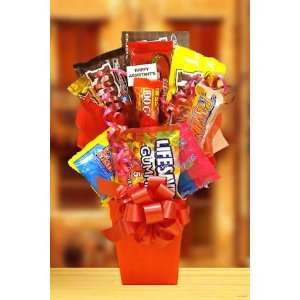 Sweet Treats Box Candy Bouquet Grocery & Gourmet Food