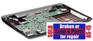 AS IS BROKEN Dell Inspiron N4010 Intel PARTS