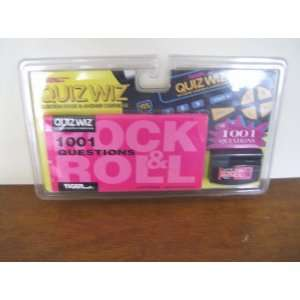 QUIZ WIZ ROCK & ROLL QUESTION BOOK & ANSWER CARTRIDGE Toys & Games