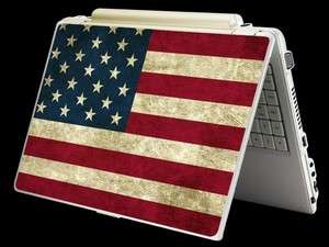 American Flag Laptop Art Skin Sticker Cover For 10 ~ 15 Notebook