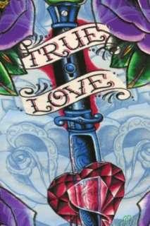 CHRISTIAN AUDIGIER Skull True Love tee T Shirt L Tunic