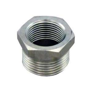 Male x 1 1/4 (1.25) Female Stainless Steel NPT Pipe Fitting 304