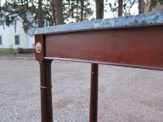 An Empire Style Marble Top Console Table Powell Bombay Style
