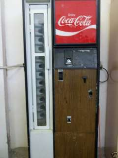 Coca Cola Bottle Vending Machine