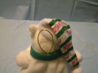 This COCA COLA 1999 POLAR BEAR BEANBAG BEAN BAG PLUSH TOY is in