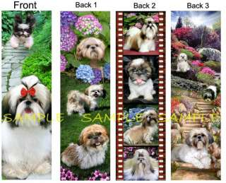 SHIH TZU Dog BOOKMARKS ART Book Card Makes NICE Gift