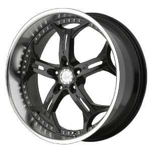 Helo HE834 Gloss Black Machined Wheel   (20x8.5/5x115mm
