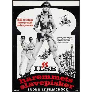 Ilsa, Harem Keeper of the Oil Sheiks Poster Movie Danish 27 x 40