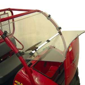 Full Length Tilting Lexan Windshield for the Kubota RTV500