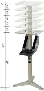 Adjustable Pedestal  Buffing Machine & Grinder Tool