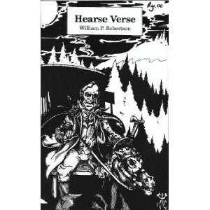 com Hearse Verse William P. Robertson, David Rimer, David Cox Books