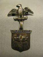 Era Son in Service Sterling Sweetheart Pin US Army Air Corps