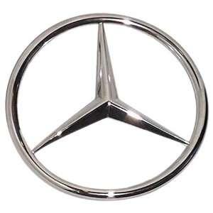 Mercedes benz new style v12 emblem automotive for Mercedes benz star emblem