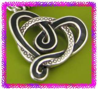 BRIGHTON Silver BLACK SAUSALITO HEART Necklace NWotag |