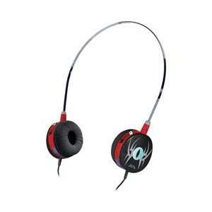 Small Size Headphones Scarz/Red Gold Plated 6.3mm Adapter Electronics