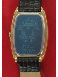 Seiko Mickey Mouse Watch Gold Face 2K03 5009 cVideo Collectors