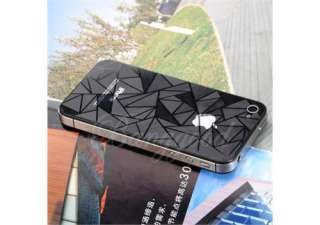 FULL BODY ANTI GLARE Screen Protector Film for iPhone 4 4S Front+Back