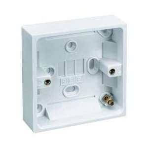 Pik a Pak *25Mm Deep Surface Mounting Box Electronics