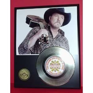 Gold Record Outlet Trace Adkins 24KT Gold Record Display