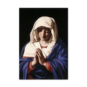 Mary Giovanni Battista Salvi Painting Fridge Magnet