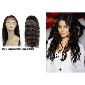 HUMAN HAIR FULL LACE WIG DEEP WAVE 16 NATURAL COLOR: Everything Else