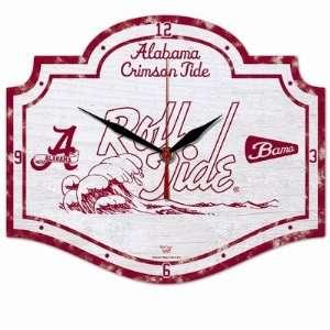 NCAA Alabama Crimson Tide High Definition Clock