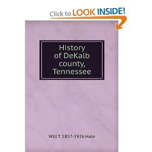 History of DeKalb county, Tennessee and over one million other books