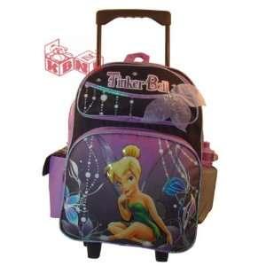 Disney Tinker Bell Wheeled Backpack   Full size School