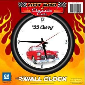 Wall Clock Blown   Chevrolet, Hot Rod, Classic Car